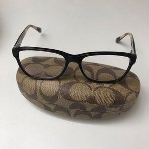 Coach prescribed glasses frame